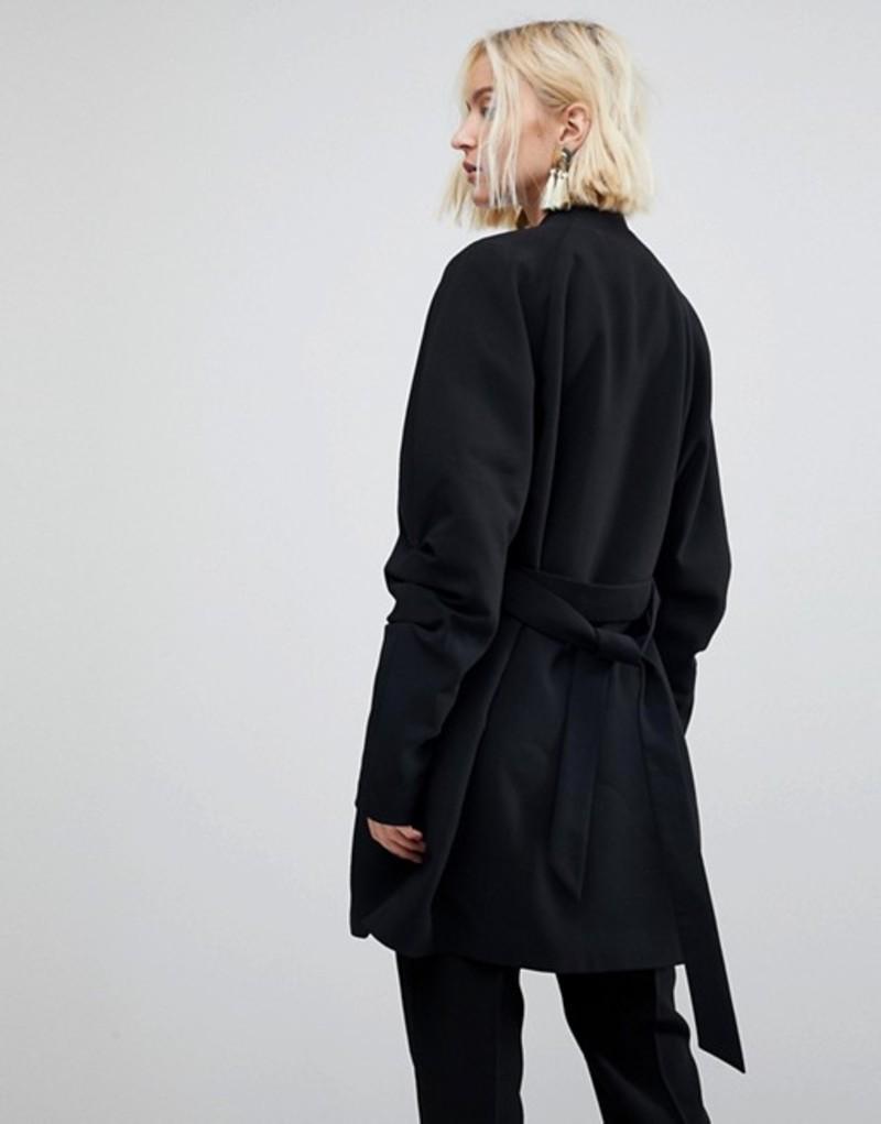 60fa1ce399b8 ヴェロモーダ Vero Black ヴェロモーダ アウター Coat With Moda コート ...
