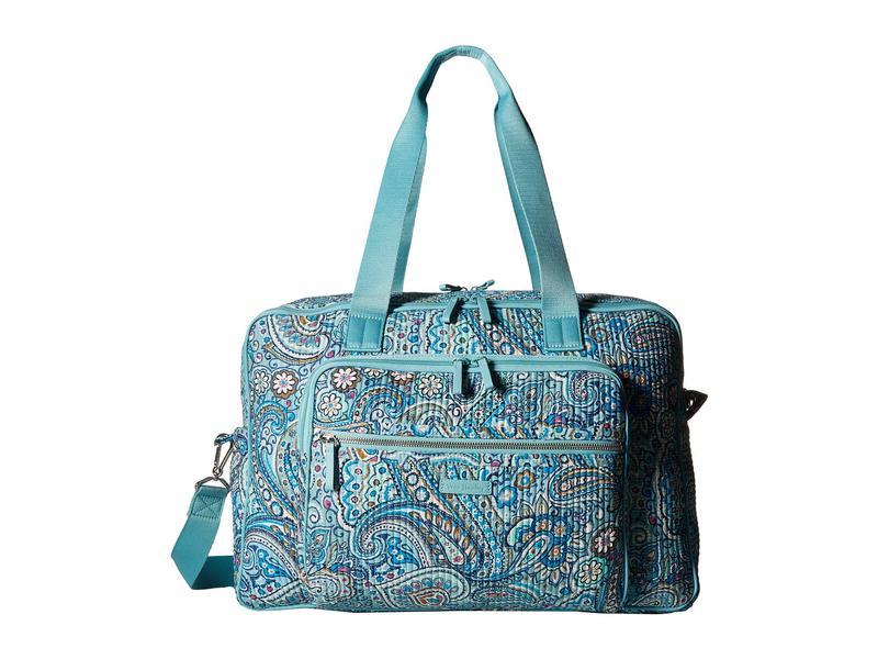 439b53b68f20 ベラブラッドリー レディース ボストンバッグ バッグ Iconic Deluxe Weekender Travel Bag Daisy Dot  Paisley 送料無料 サイズ交換無料 ベラブラッドリー レディース ...