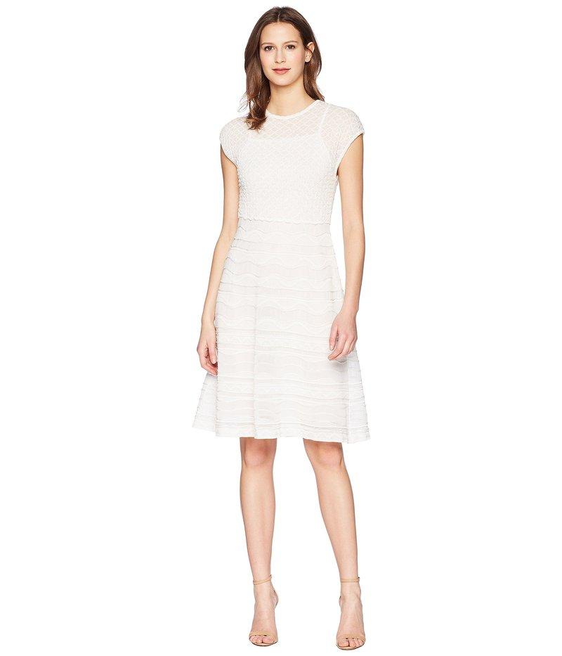 ac7cf502f7f9 エム ミッソーニ レディース ワンピース トップス Solid Rib Stitch Dress White 送料無料 サイズ交換無料 エム ミッソーニ  レディース トップス ワンピース White
