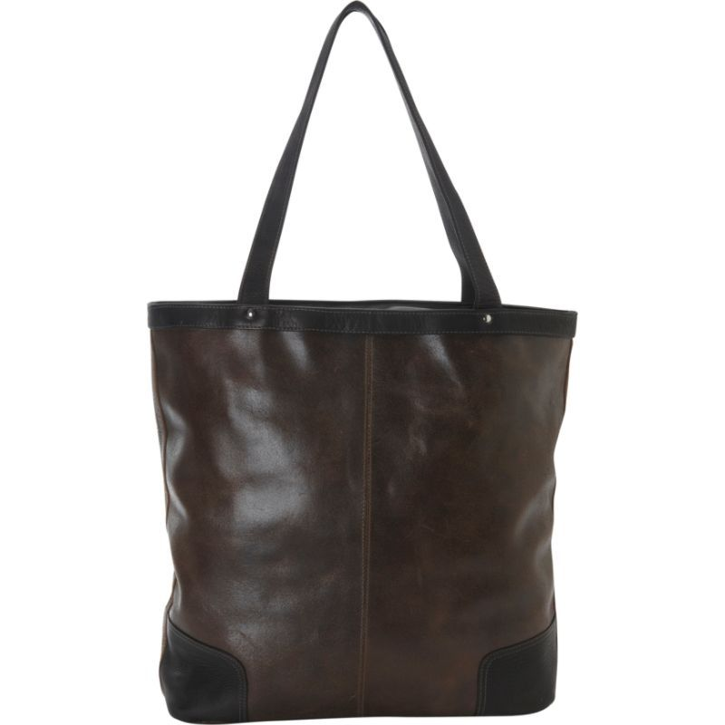 2c08fa2550d2 ピエール メンズ トートバッグ バッグ Vintage Vertical Leather Tote Vintage Brown. □ブランド