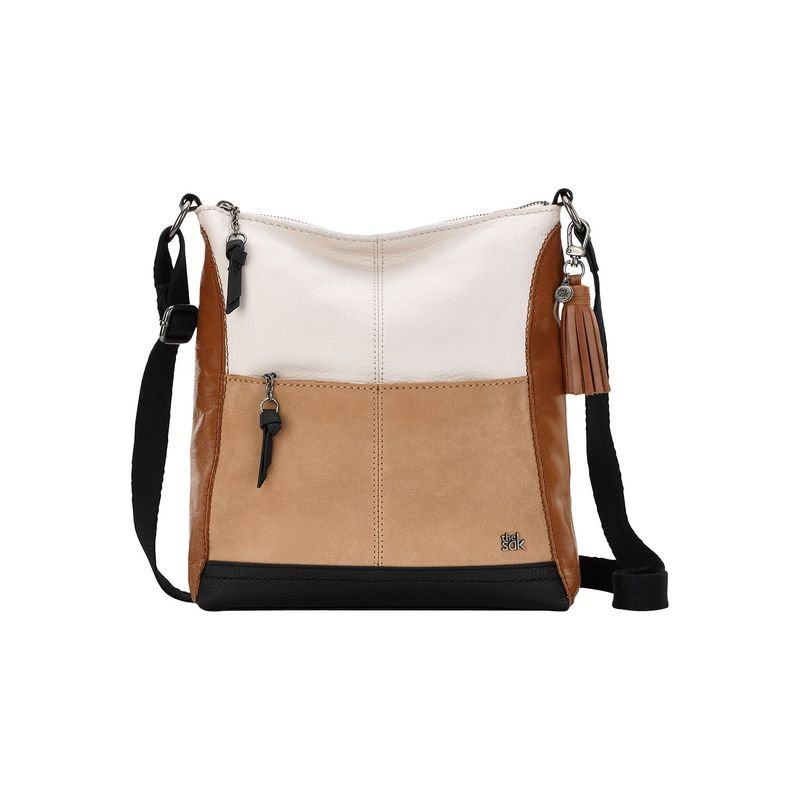7a5b60396d81 ザサック メンズ ボディバッグ・ウエストポーチ バッグ Lucia Crossbody Neutral Color Block 送料無料 サイズ交換無料  ザサック メンズ バッグ ボディバッグ・ ...