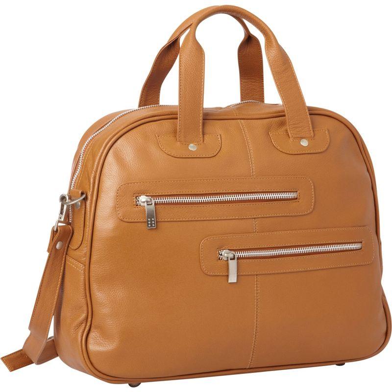 b7fa9386d5 ピエール メンズ ハンドバッグ バッグ Double Zip-Pocket Leather Satchel Saddle公式通販