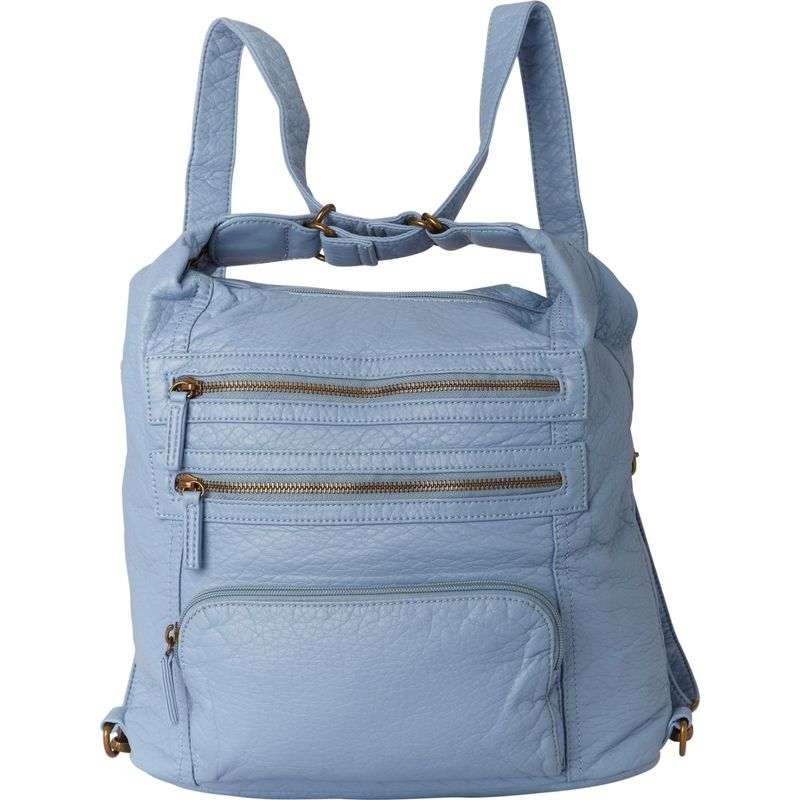 72852af49c2e アンペレクリアーション メンズ ショルダーバッグ バッグ The Lisa Convertible Backpack Baby Blue 送料無料  サイズ交換無料 アンペレクリアーション メンズ バッグ ...
