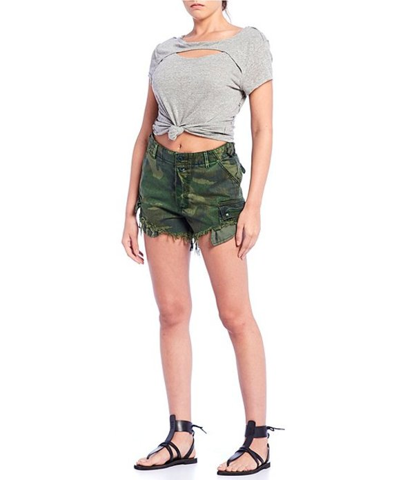 ファッション トップス 1. state women cutout
