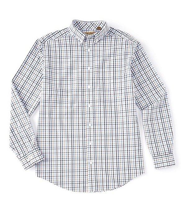NWT Gold Label Roundtree Yorke Blue Red Check Men Shirt Big Tall 2XT 3XT 2XB 3XB