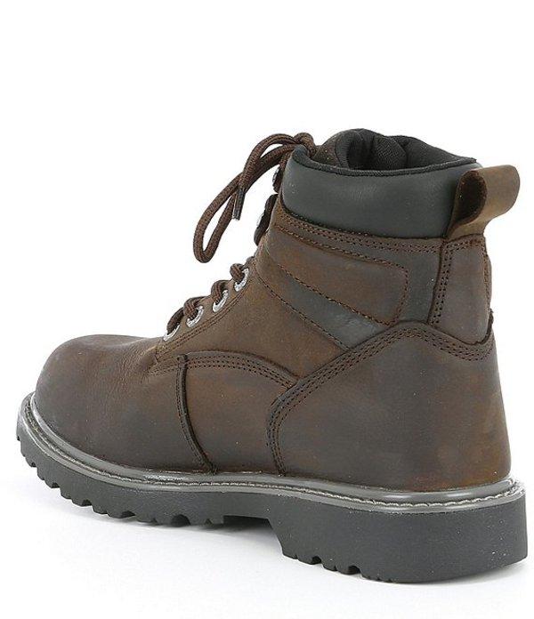 Soft Toe M Dark Brown Size 11 Men/'s Floorhand Waterproof 6/'/' Work Boots