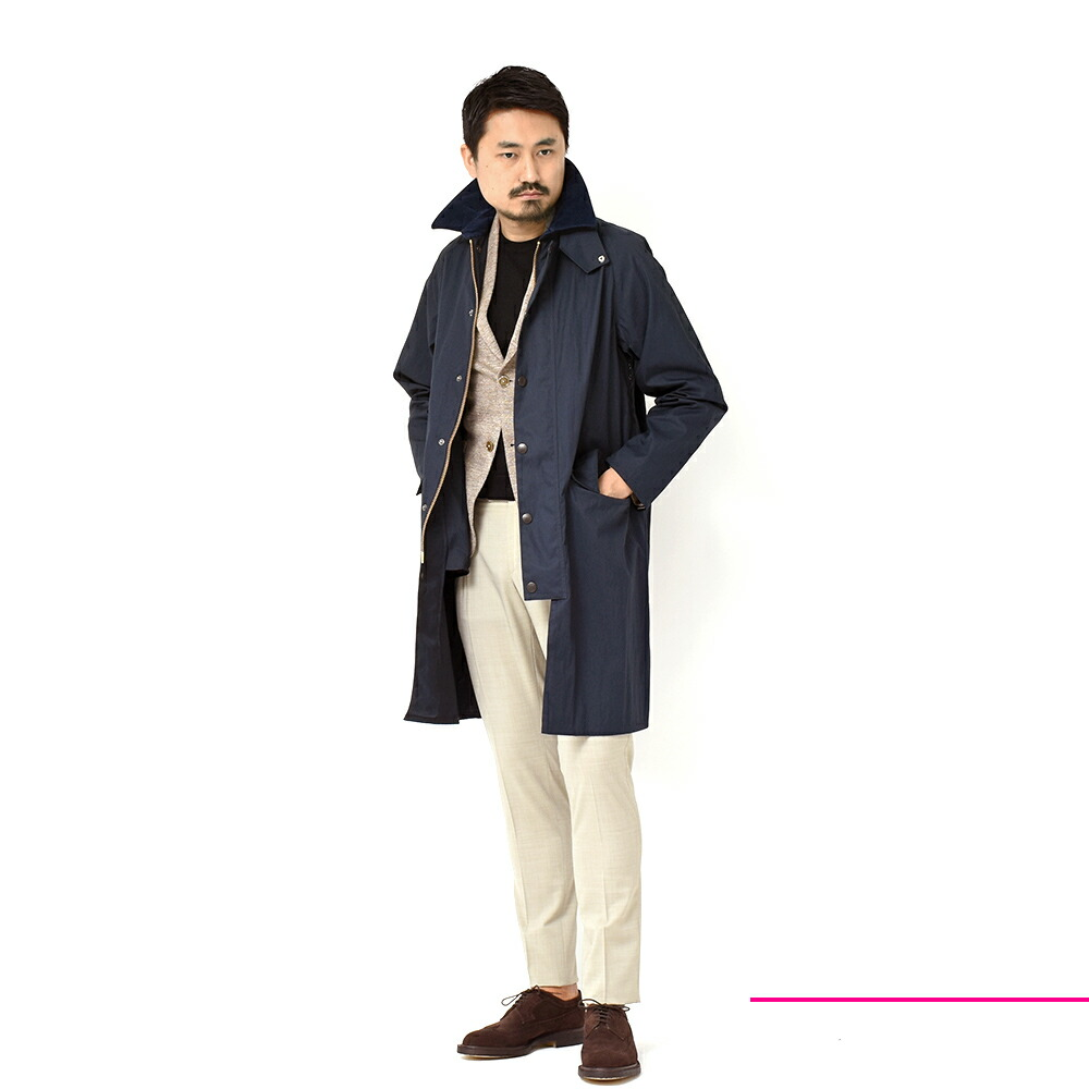 Barbour(バブアー)のコーディネート全身写真