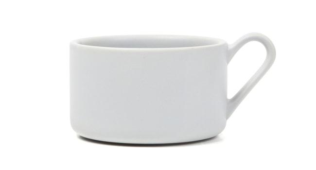 釉薬ムラが美しいスープカップ