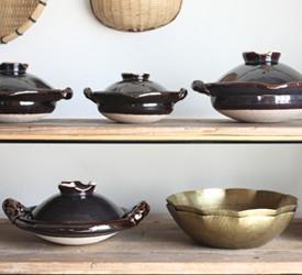 土楽窯 土鍋