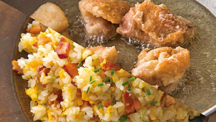 1鍋で多彩な調理