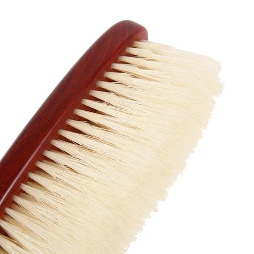 デリケートな素材に適した二段植毛