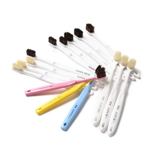 天然毛の歯ブラシの特徴