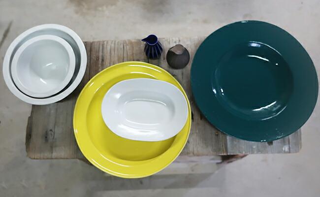 家庭の献立との相性の良い陶器の数々