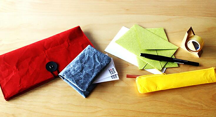 新素材ナオロンを取り入れた「SIWA|紙和」シリーズ