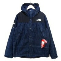 ×THE NORTH FACE Denim Dot Shot Jacket