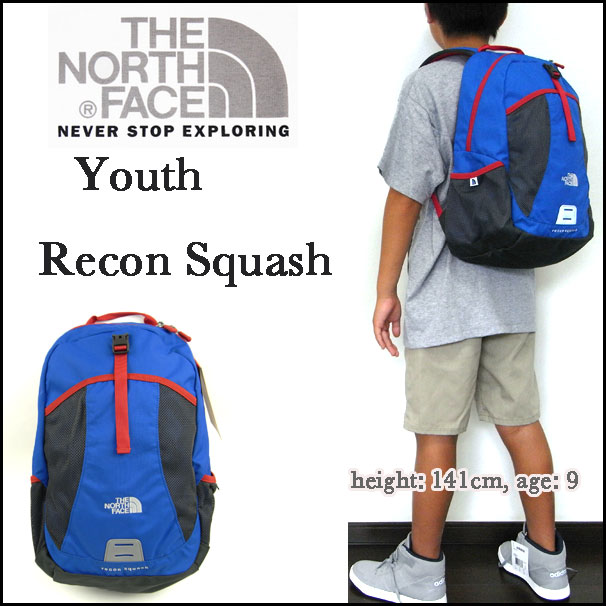 710a143a3ae3 The North face / rucksack / kids /THE NORTH FACE/ youth / child /YOUTH  RECON SQUASH BACK PACK/N. blue / リーコンスカッシュバックパック / day pack
