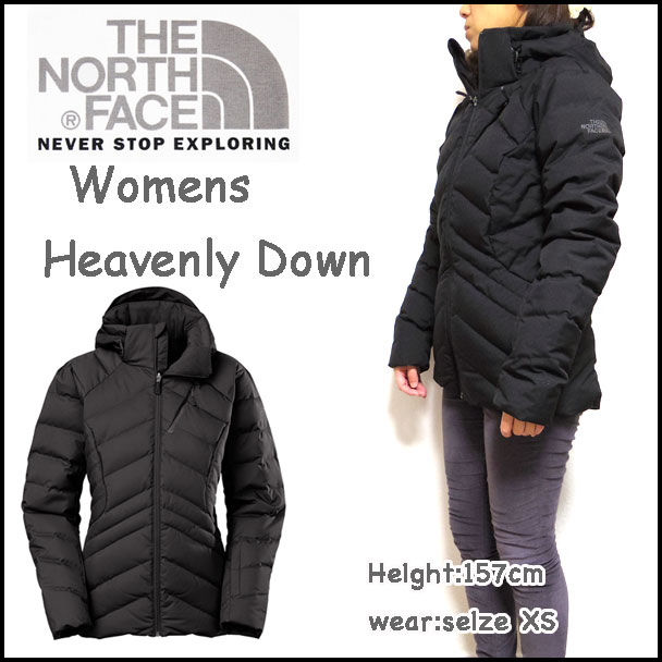 THE NORTH FACE (the north face) popular. USA model women s down jacket (HEAVENLY  DOWN JACKET) Is in stock now. Inflection type quilting is appealing in a ... 93a71afd8