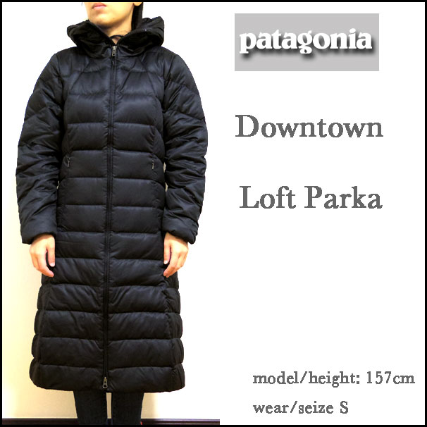Patagonia Women S Downtown Loft Parka: Women's Patagonia Downtown Loft Parka 28466 155 Black Jacket