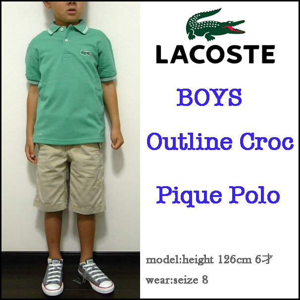 c5dc5ec02 reason  LACOSTE KIDS   Lacoste kids Polo shirts junior   kids  BOYS ...