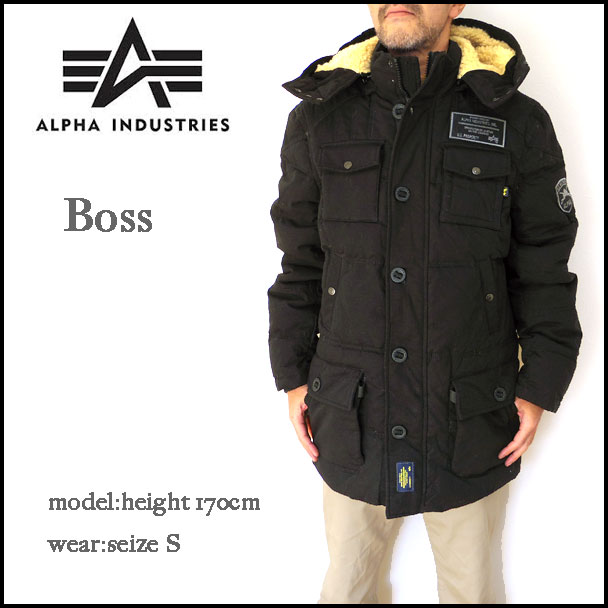 Alpha industries boss parka