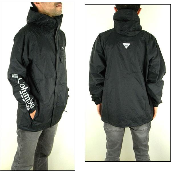 Columbia rain tech jacket