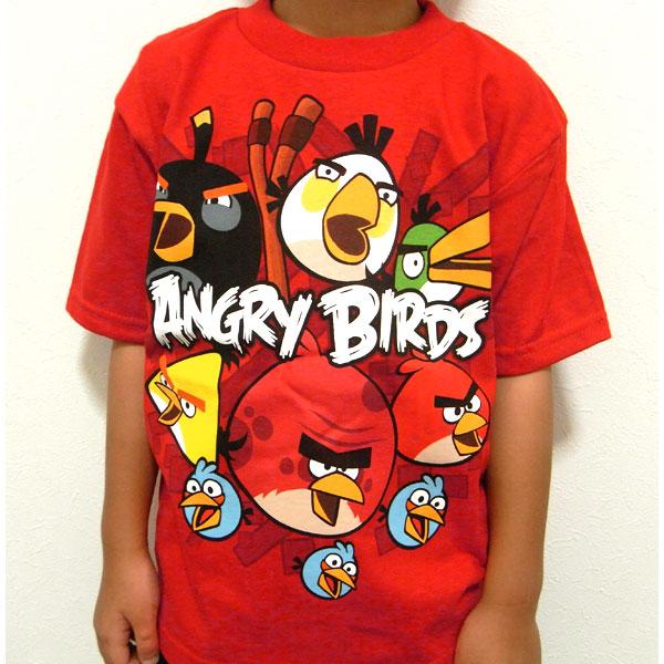【楽天市場】アングリーバード キッズ Tシャツ Kids Angry Birds T Shirt So Angry