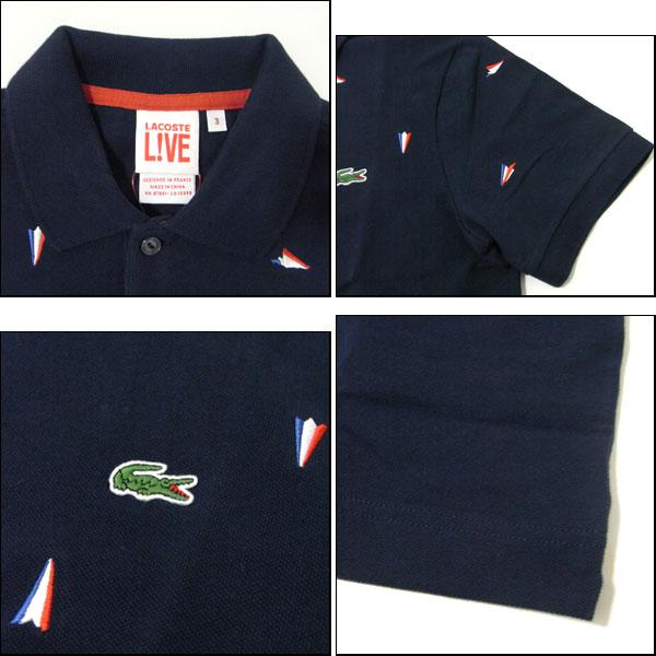 Reason Lacoste Lacoste Polo Shirt Ph7030 51 Navy Aircraft