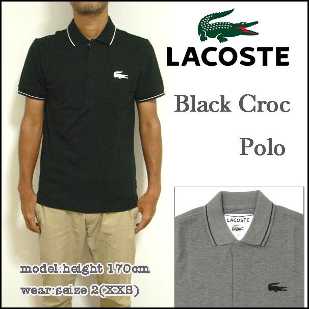 Reason Lacoste Lacoste Polo Shirts Men S Ph7423 Mens Black