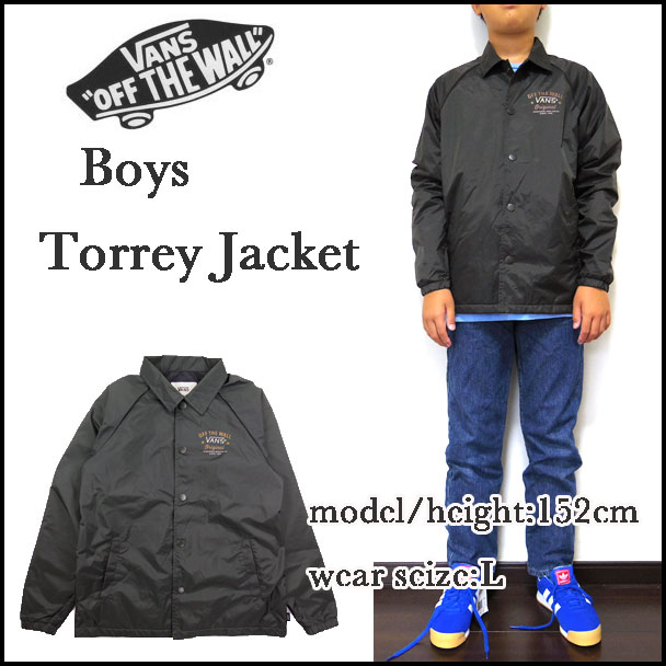 Reason Vans Vans Kids Coaches Jacket Boys Torrey Windbreaker