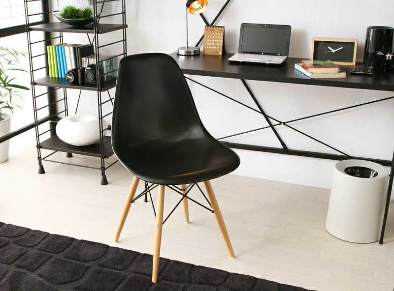 Eames Chair Chairs Taking Shell Chair Chairs Dsw Chair イームズチェアー EAMES DSW  (shipping Included)