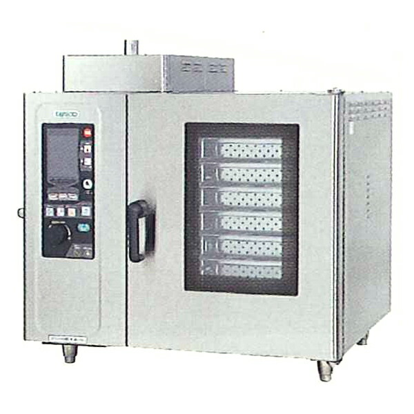 タニコー ガス式デラックススチーム コンベクションオーブン TSCO-6GDN2