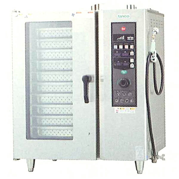 タニコー ガス式ベーシックスチームコンベクションオーブン TSCO-101GBR