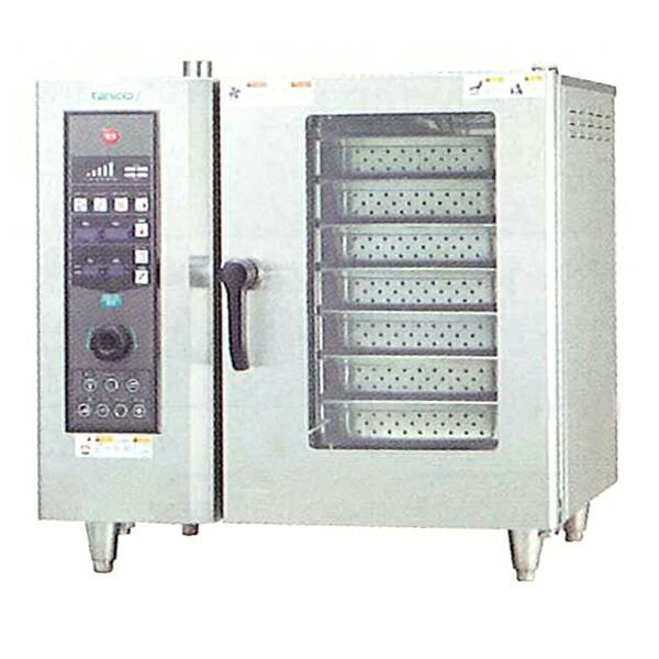 タニコー 電気式ベーシックスチームコンベクションオーブン TSCO-61EBL
