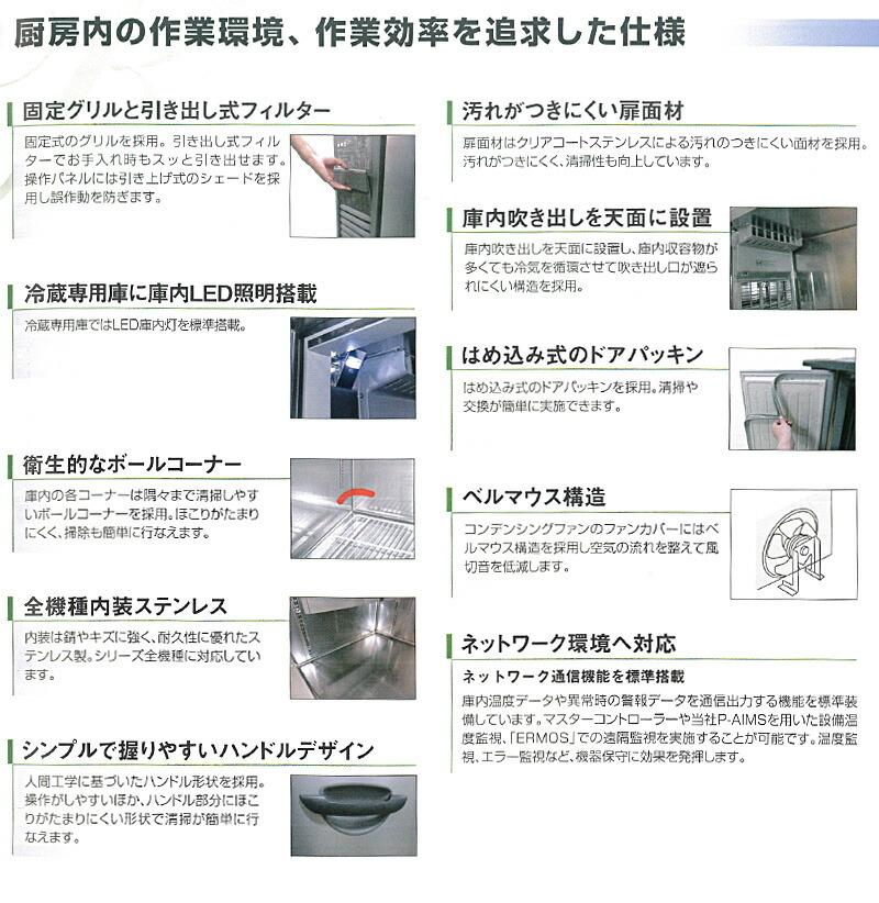 厨房内の作業環境 作業効率を追求