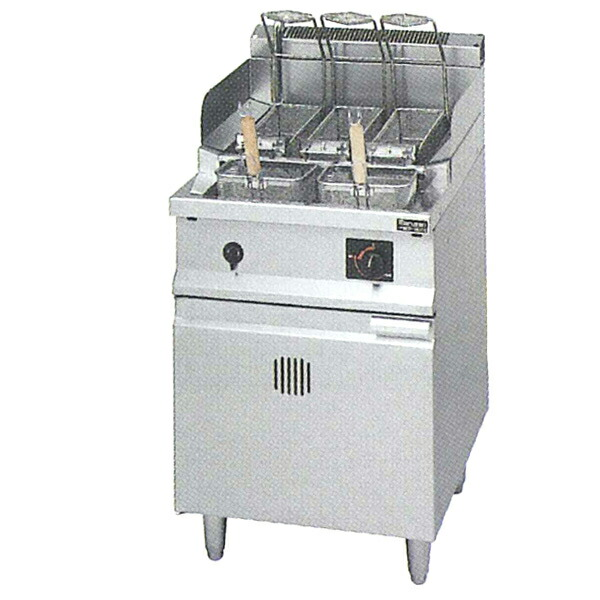 ガス反転スパゲティ釜 幅550×奥行600×高さ800(mm) MRP-H056