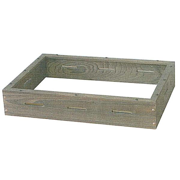 ニッセイ(アンナカ) 電気おでん鍋用 木枠 幅518×奥行368×高さ105(mm) NHO-6SY
