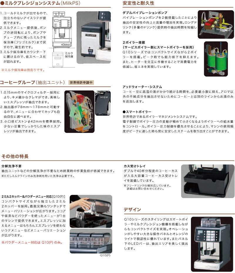 Q10シリーズ詳細