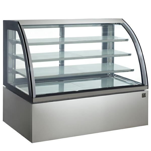 レマコム 4面ガラス冷蔵ショーケース