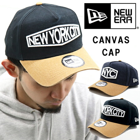 NEW ERA 9FORTY A-FRAME HEAVY WASHED DUCK CANVAS CAP 11899220.11899222 / ニューエラ ダックキャンバス ユニセックス キャップ 11899220.11899222