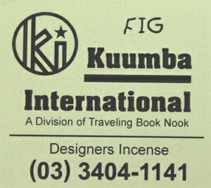 KUUMBA , クンバ, incense ,(FIG )