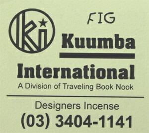 KUUMBA , クンバ, incense ,(FIG )