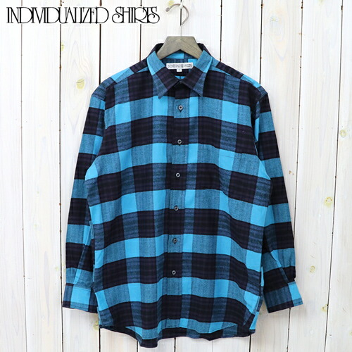 『LOGGER SHIRTS CHECK』(BLUE)