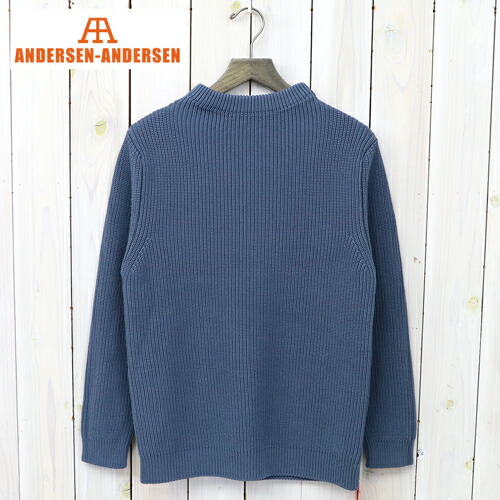 『COTTON CREWNECK』(Petroleum)