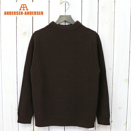 『COTTON CREWNECK』(Dark Brown)