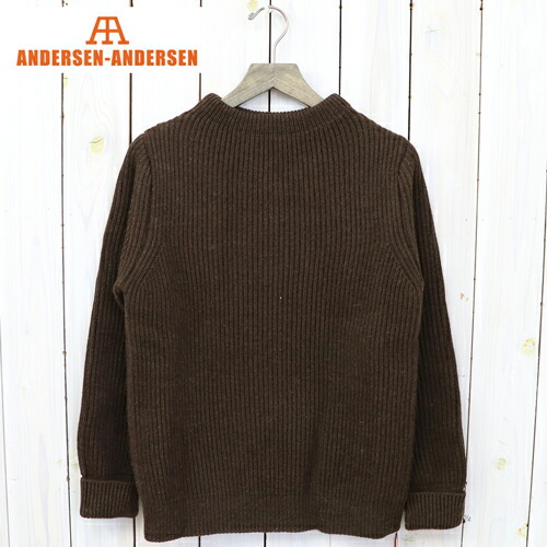 『THE NAVY-CREW NECK』(Natural Brown)
