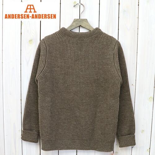 『THE NAVY-CREW NECK』(Natural Taupe)
