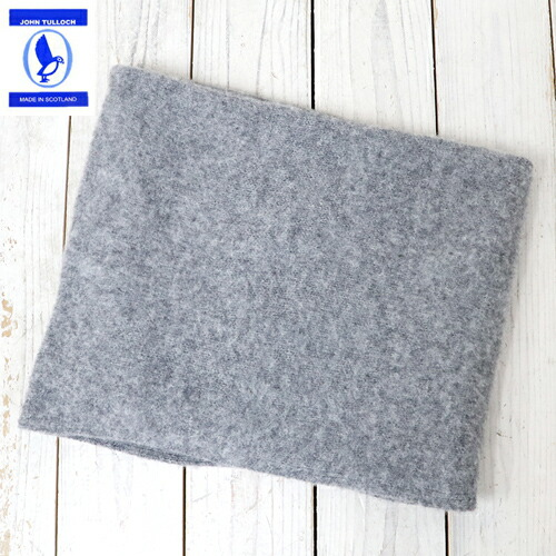 『HEAVY BRUSH NECK WARMER』(MEDIUM GREY)