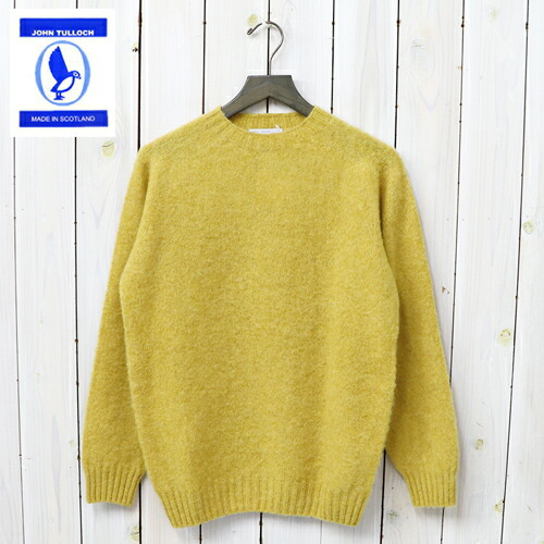 『SEAM FREE HEAVY BRUSH CREW NECK SADDLE SHOULDER P/O』(NUGGET)