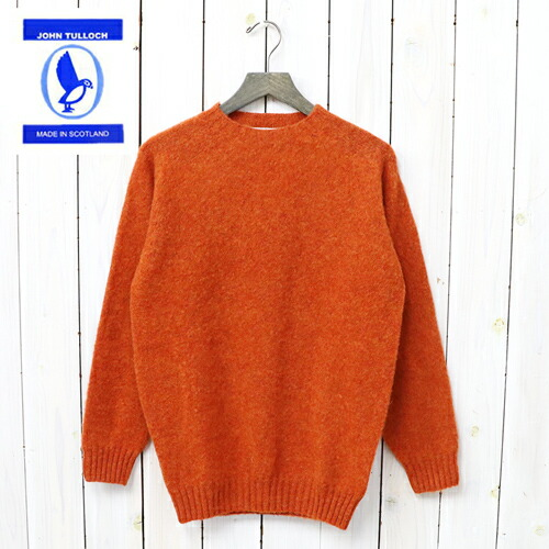 『SEAM FREE HEAVY BRUSH CREW NECK SADDLE SHOULDER P/O』(IRON RUST)