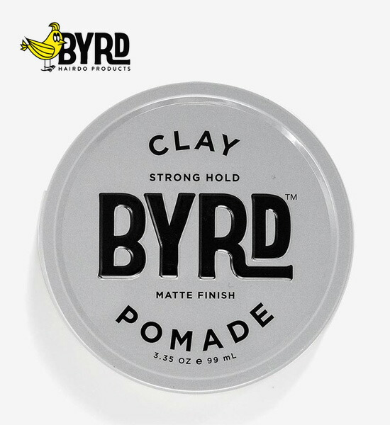 Byrd Hairdo Products(バード)CLAY POMADE クレイポマード